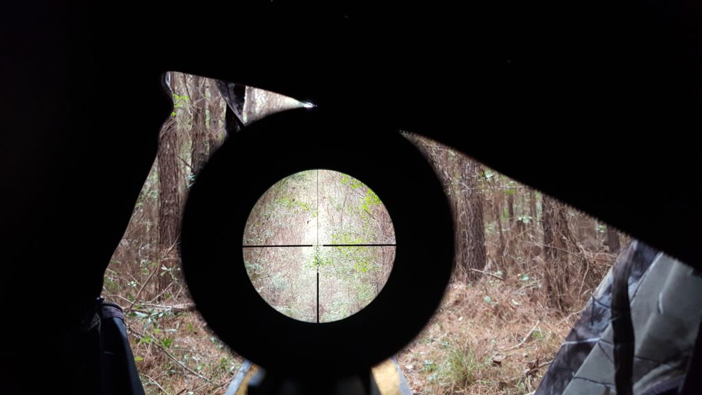 Tactical rangefinder with a clean clear and crisp view