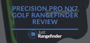 Precision Pro NX7 Golf Rangefinder Review